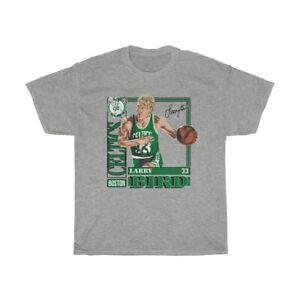 Vintage Larry Bird Caricature 90's Basketball NBA Boston Celtics T Shirts