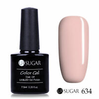 7.5ml UR SUGAR Soak Off UV Gel Nail Polish Nail Art Gel Varnish Pure Tips 634