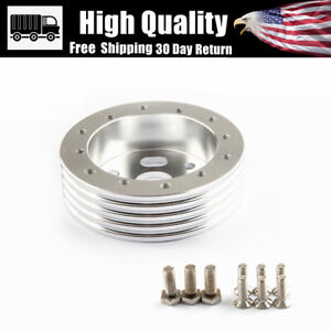 """1"""" Billet Extension Hub Spacer for 6 hole Steering Wheel to 3 hole Adapter"""