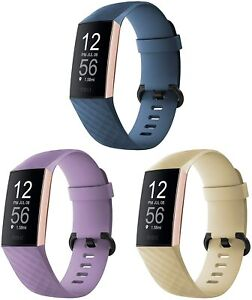 """3 Pack Charge 3 3SE 4 Replacement Silicone Lavender Khaki Slate LG 7.1"""" - 8.7"""""""