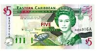 East Caribbean States ... P-31a ... 5 Dollars ... ND(1994) ... *UNC*