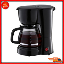 5 Cup Coffee Maker with Removable Filter Basket, Easy Pour, Ergonomic Handle