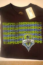 """new Seattle Sounders """"Vintage look"""" size M Graphic S/S shirt (Orig. $ 19.94)"""
