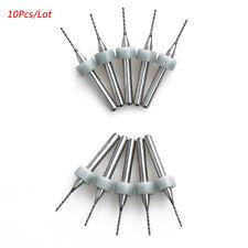 10pcs/lot 0.8mm Carbide Micro Drill Bits CNC PCB Drill Bit Set DD