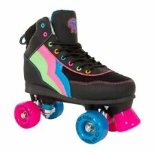 Rollers et patins noirs unisexe