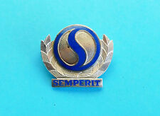 SEMPERIT tires  ...  SOLID SILVER old rare enameled pin badge * Larger size RRR