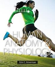 Human Anatomy and Physiology by Erin C. Amerman (2014, Hardcover) plus lab book