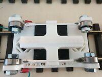 Rollenprüfstand Spur G, mit integrierter Radreinigung