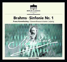 FRANZ KONWITSCHNY/GEWANDHAUSORCHESTER LEIPZIG - BRAHMS: SINFONIE 1   CD NEW+