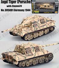 WWII Jagdtiger Porsche hunting tiger tank #001 Germany 1944 1/72 tank Easy model