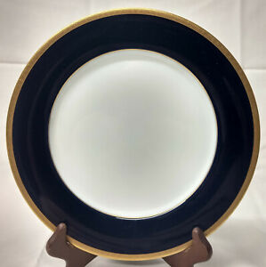Noritake 2799 Legacy VALHALLA Cobalt Blue Band Gold 10 1/2 DINNER PLATE Quantity