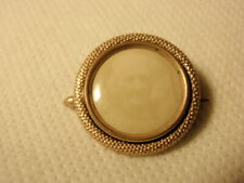 Pin Brooch C Clasp *As-Is* Vintage Antique Faded Photo Mourning