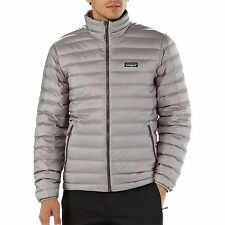 NWT Mens Feather  Grey Patagonia Down Sweater Puff Jacket 800 fill Goose Size XL