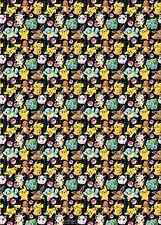 Pokemon Roll Wrap - 4m  NEW