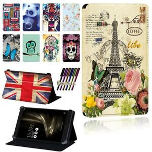 "Leather Flip Smart Stand Case cover For Asus ZenPad 7.0"" 8.0"" 10"" / S 8.0 /C 7.0"