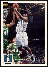 Larry Johnson #302 Collector's Choice 1994-5 français de basket-ball carte (C502A)