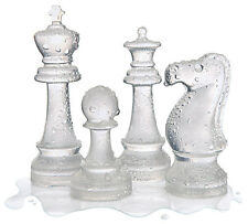Ice Speed Chess Set Game High Quality Large Freezer Silicon Mould