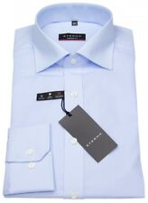 Eterna Herren Hemd Modern Fit hellblau - extra langer Arm 72cm
