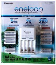 GENUINE Panasonic Enloop Battery Charger Multi Pack Free Superfast Delivery!!