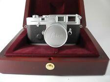 Leica M6J 40 Jahr Kamera Set W 50mm F2.8 Elmar Linse Komplett Verpackt Unbenutzt