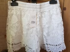 pantaloncini corti bianco,donna, XL