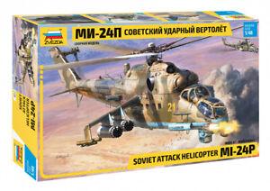 Zvezda 4812 Soviet Attack Helicopter MIL MI-24P 1/48