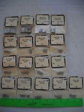Lot of 17 Trackside Parts 180 182 183 184 Relay Box Boxes, Metal Detail,HO Scale