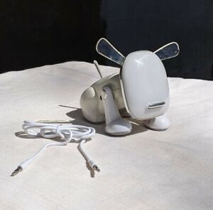 2007 Hasbro Sega Toys I-Dog Electronic Music Robot White TESTED WORKS