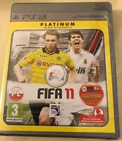 FIFA 11 PS3 Game Platinum Edition Polish Version Playstation 3 NEW