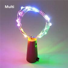 Bottle Fairy String Lights Battery Cork Shaped Christmas Wedding Party 10/20 LED