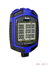 ROBIC STOP WATCH SPEED & SPORT TIMER MEMORY RECALL SPLIT TIMES MPH/KPH  ROB68899