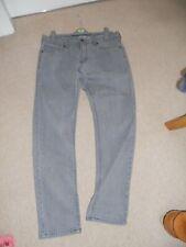 Mens M&S grey jeans size 34W 31L