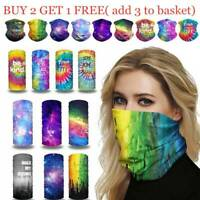 Face Mask Scarf Bandana Balaclava Biker Tube Neck Cover Warmer Cover Snood =