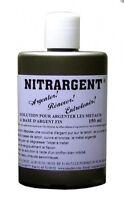 ARGENTURE A FROID NITRARGENT ARGENTER A BASE D' ARGENT FIN 150 ML POUR METAUX