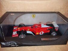 HOT WHEELS FERRARI F 2002 SCHUMACHER ORIGINALE scala 1:18   cod.1331