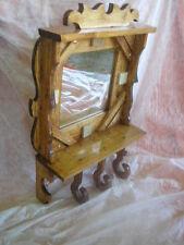 Mueble ESPEJO con colgadores, impresionante, nuevo, artesanal xl