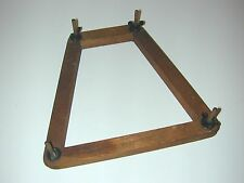 Wright & Ditson Antique Tennis Racquet Press - Wood with Large Wing Nuts