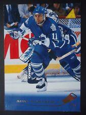 NHL 75 Mike Gartner Toronto Maple Leafs Pinnacle 1995/96 (6,4 x 8,9)
