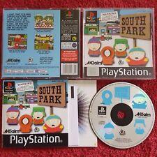SOUTH PARK ORIGINAL BLACK LABEL SONY PLAYSTATION PS1 PS2 PAL