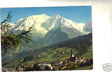 74 - cpsm - Paysage avec le Mont Blanc (H5360)