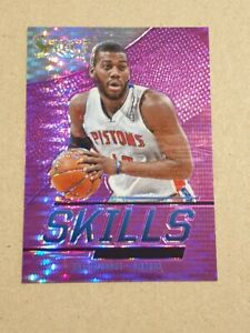 2013-14 Select Prizm Purple Greg Monroe card - Detroit Pistons  #ed/99