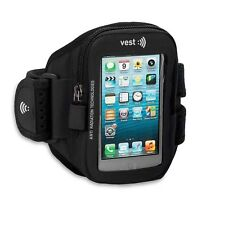 Vest Anti-Radiation Arm Pack Sports band up to 5.5″ (Black)