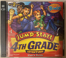 Jump Start 4th Grade Adventures - Deluxe 2 CD Set Windows & MAC Educational