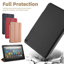 For Amazon Fire HD 8 2020 10th Gen / 8 Plus Tablet Case Flip Leather Stand Cover