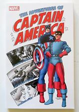 The Adventures of Captain America Marvel Graphic Novel Comic Book