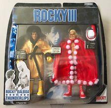 ROCKY III : ROCKY BALBOA VS THUNDERLIPS EXCLUSIVE FIGURE SET HULK HOGAN WWF WWE