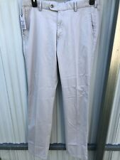 Peter Millar Soft Touch Twill Light Gray Pants Men's Size 34x36 NEW $158