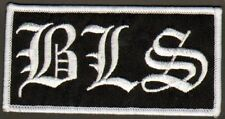 BLACK LABEL SOCIETY letter patch licensed BLS Zakk Wylde  stop buying bootlegs