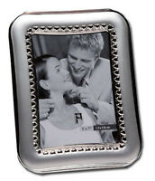 """Silver Photo Picture Frame 4x6"""" & 5x7"""" - ROMANTIC GIFT WEDDING GIFT LOVE HEARTS"""