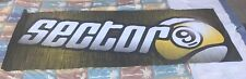 "Sector 9 Skateboards 94"" x 36"" Store Display Banner - Rare Advertising"